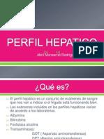 PERFIL HEPATICO