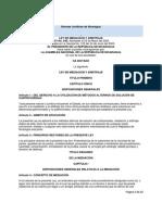 LEY DE MEDIACIÓN Y ARBITRAJE LEY No. 540,