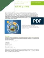 Tema 3. Arquitectura y Clima