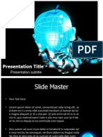 Emerging Technologies Powerpoint Template