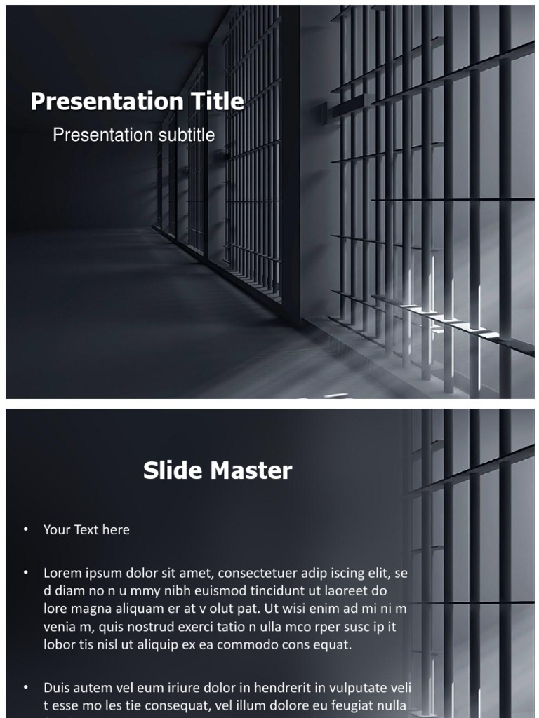 Prison bars clip art powerpoint template graphics art media toneelgroepblik Gallery