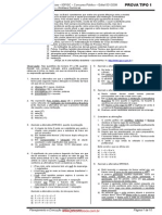 Prova Perito Farmacêutico PC SC 2008