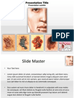 Skin Cancer Treatment Powerpoint Template