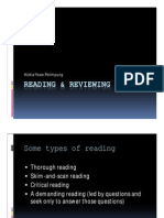 Reading & Reviewing