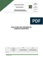 manual de guías clinicas para detectar patologías del lenguaje
