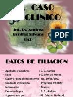 Caso clínico - Andrea