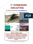 Blast Sidecasting in Surface Coal Mines