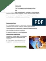 TIPOS DE LA NANOTECNOLOGÍA