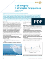 Premium Digest December 2010 Development of Integrity Management Strategies for Pipelines