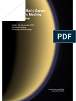 ukpf 7th early career scientists meeting 2009 programme
