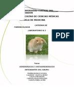 Informe de Farmacologia