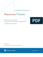 Resources FUTURES Report December 2012 Summary