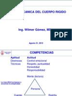 1Clase Mecanica Cuerpo Rigido 2013 II