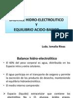 Balance Hidro Electrolitico