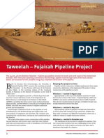 Premium Digest December 2010 Taweelah Fujairah Pipeline Project