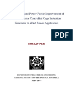 Performance and Power Factor Improvement of Indirect Vector Controlled Cage Induction Generator in Wind Power Application.pdf