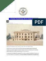 Plancha n.00968 - Claves Masonicas de La Casa Blanca (1)
