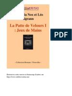 7537-AQUILEGIA NOX ET LEO SIGRANN-La Patte de Velours i Jeux de Mains-[InLibroVeritas.net]
