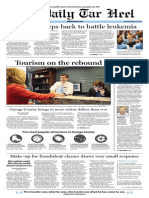 The Daily Tar Heel for October 15, 2013