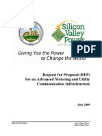 silicon valley power rfp for advanced metering and utility infrastructure