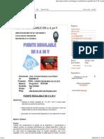 Proyecto I_ Fuente Regulable de 0 a 30 V