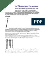 Die Waffen Der Wikinger Und Normannen