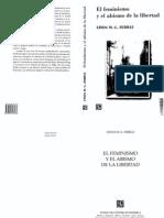 Zerilli Linda M. G. El Feminismo y El Abismo de La Libertad Seccion de Obras de Sociologia 2008