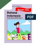 Bahan Ajar Bahasa Indonesia Kelas II