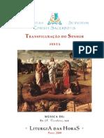 Livro de Horas - Transfiguração do Senhor