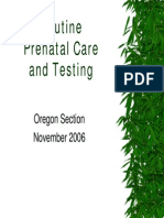 Slides - OBSTETRICIA - Prenatal Care