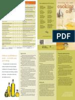 Cooking Oil Brochure 1101
