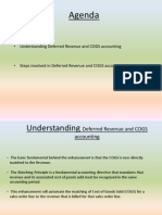 Deferred Revenue & COGS Accounting