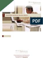 Top 10 Tips for Online Training Design