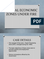 SPECIAL ECONOMIC ZONES UNDER FIRE