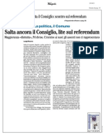 Rassegna Stampa 15.10.2013