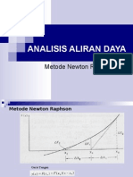 Analisis Aliran Daya - Newton Raphson