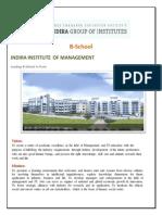 Top B-School in India | Best B-School in Pune | Indira Institute of Management