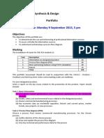 ChE 312 Portfolio Problem Statement-1
