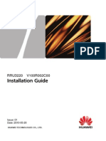 RRU3220 Installation Guide(V100R002C00_01)