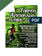 36 Torneo Futbol Sala
