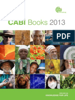Books Catalog for 2013