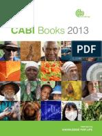 Books Catalog for 2013