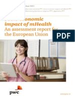Socio-economic impact of mHealth An assessment report for the European Union