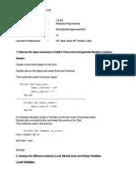 CS-65 Solved Assignment 2012