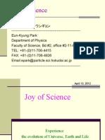Joy of Science