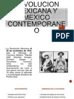 Revolucion Mexicana y Mexico Contemporaneo