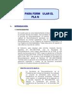 Guía para formular plan básico de desarrollo de capacidades institucionales y de gestión