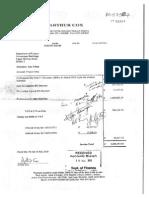 Arthur Cox - DoF Invoice for €1.8m