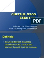 38.Chistul Osos Essential.displazia Fibroasa - Dr.gheorghevici Teodor