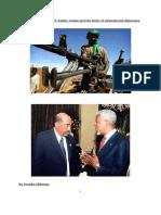 Diplomacy meets conflict